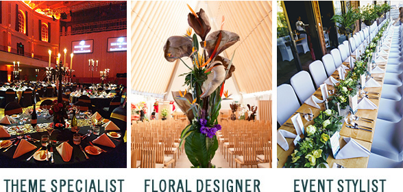Theme Specialist, Floral Designer, Event Stylist